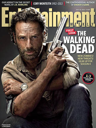 The Walking Dead Gets 3 Entertainment Weekly Covers! Which One Is Best?