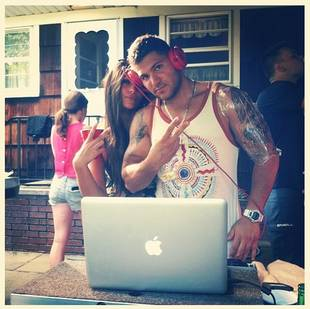 Ronnie Magro Gets New Tattoo and Shows Off DJ Skills With Sammi Sweetheart! (PHOTO)