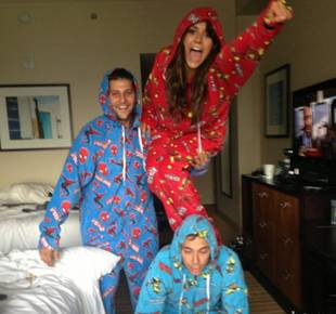 Mystery Man Picks Up Nina Dobrev in Her PJs