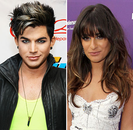 Glee Season 5: Lea Michele Reacts to Adam Lambert Casting News