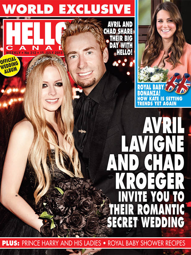 Avril Lavigne Marries Chad Kroeger — See The Bride and Groom! (PHOTO)