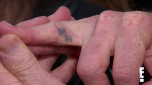 Bryan Cranston Gets Breaking Bad Tattoo on His Finger — Check It Out