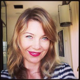 Grey's Anatomy's Ellen Pompeo Obsesses Over Italian Pizza (PHOTO)