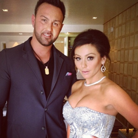 JWOWW and Roger Make Out While Lifting Weights: GTL Gone Wild! (PHOTO)