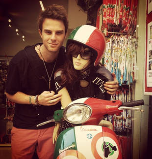 Vampire Diaries' Nathaniel Buzolic Introduces His New Italian Girlfriend