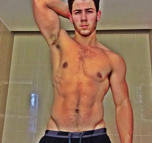 Shirtless Nick Jonas Posts Buff Selfie — Sexy or Silly? (PHOTO)