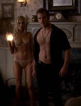 True Blood's Anna Paquin Shows Off Sexy Post-Baby Bod in Agent Provocateur Lingerie (PHOTO)