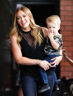 Hilary Duff's Son Luca Is Getting So Big! (PHOTO)
