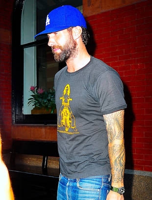 Adam Levine Spotted in New York City With Intense Facial Hair Following Marriage Proposal (PHOTO)