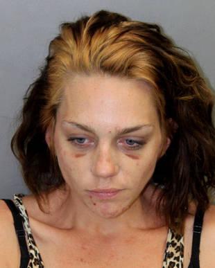 America's Next Top Model Star Renee Alway's Horrifying Mugshot (PHOTO)
