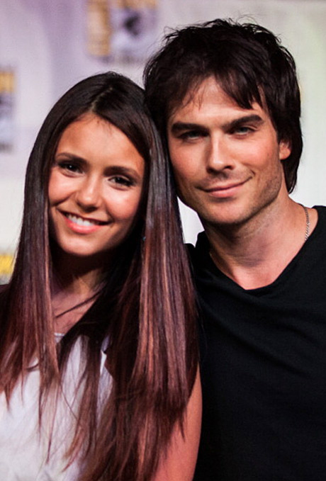 Ian Somerhalder and Nina Dobrev Reunite at Comic-Con 2013