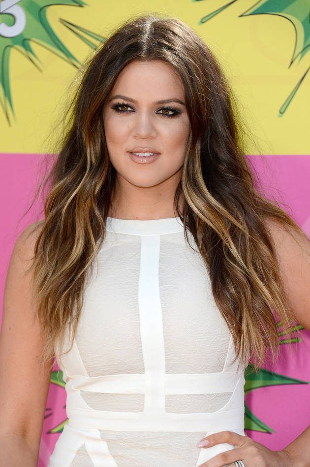 "Khloe Kardashian Takes a Fashion Cue From ""Family Feud"""