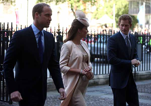 Pregnant Kate Middleton Heads to London — To Go to the Hospital?