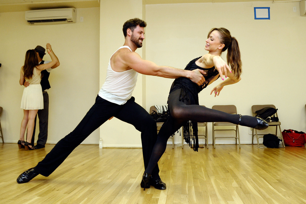 "Val Chmerkovskiy Says Watching Maks and Karina in Forever Tango Is ""Breathtaking"""