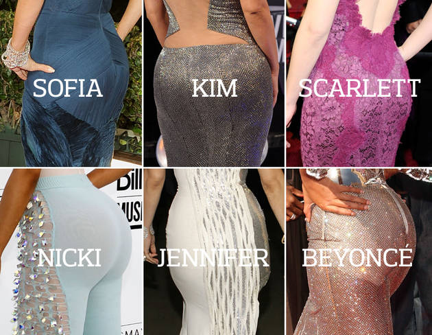 Celeb Body Showdown, Round One: Best Female Butt (POLL)