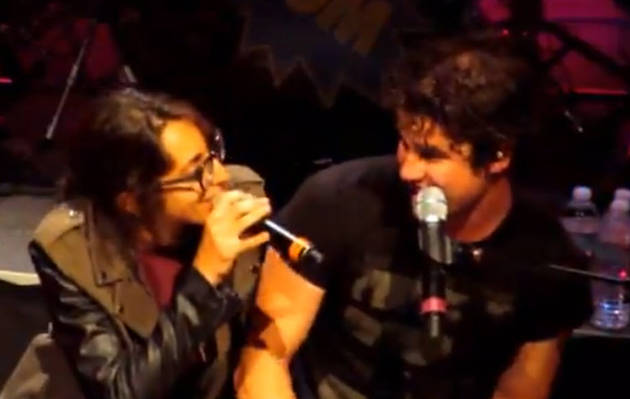Michelle Chamuel Performs Duet With Glee's Darren Criss! (VIDEO)