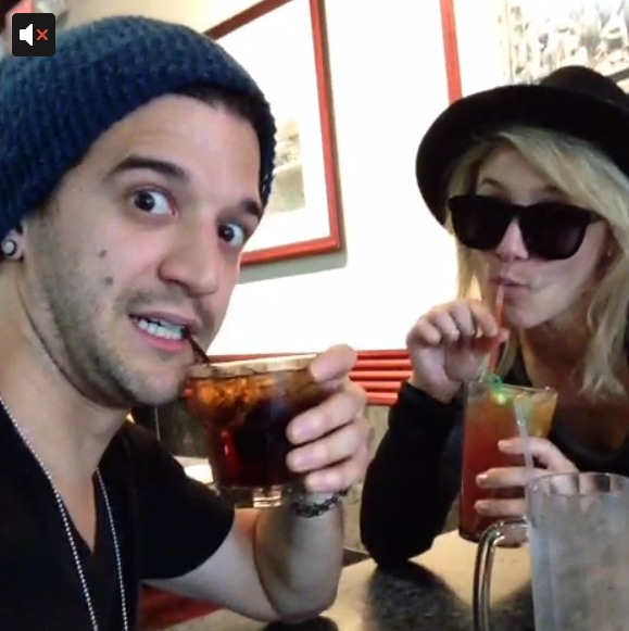 Dancing With the Stars' Mark Ballas Gets Goofy With Girlfriend BC Jean! (VIDEO)