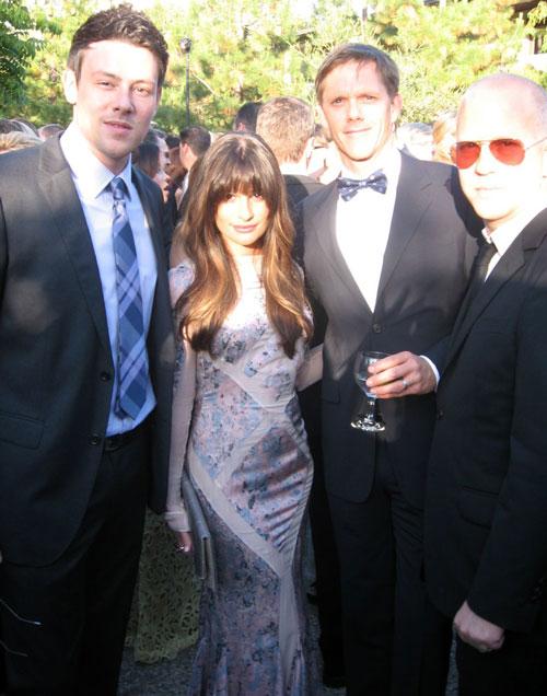 Cory Monteith's Death: Creator Ryan Murphy Praises Lea Michele's Strength