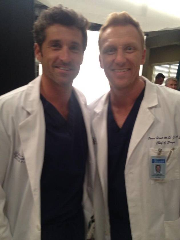 Grey's Anatomy Star Kevin McKidd Joins Vine, Posts Behind-the-Scenes Season 10 Video!