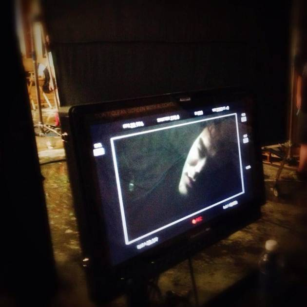 Vampire Diaries Season 5, Episode 2: Stefan's Behind-the-Scenes Photo