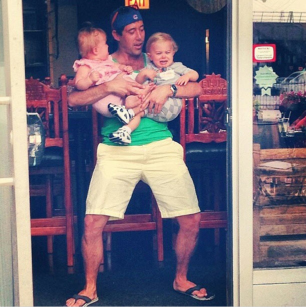 Bachelor Pad's Ed Swiderski Spotted with Babies — Ready to be a Dad?