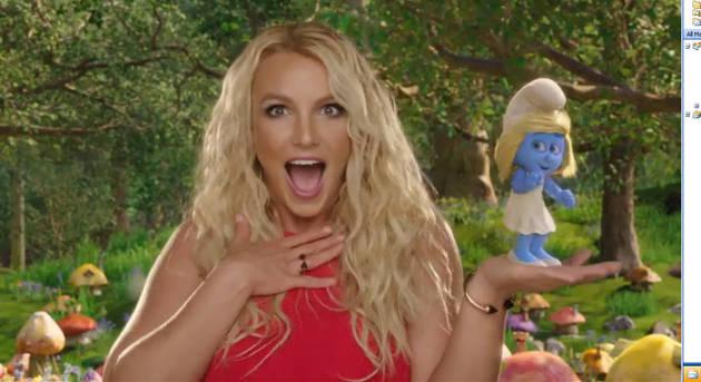 "Britney Spears' ""Oh La La"" Music Video — She Gets Struck By Lightning!"