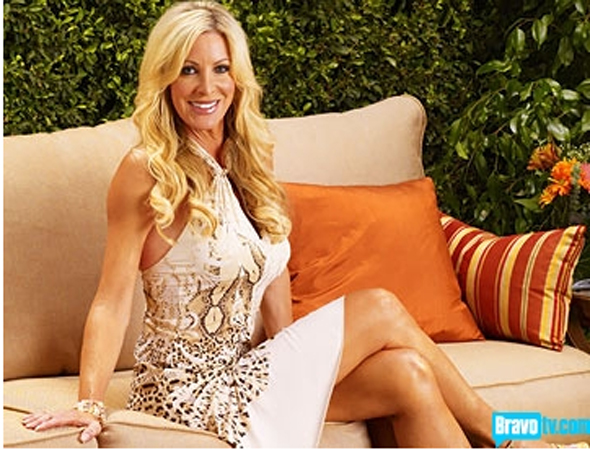 Lauri Peterson Saw Vicki Gunvalson in Bed With a Man And Woman — Twice!