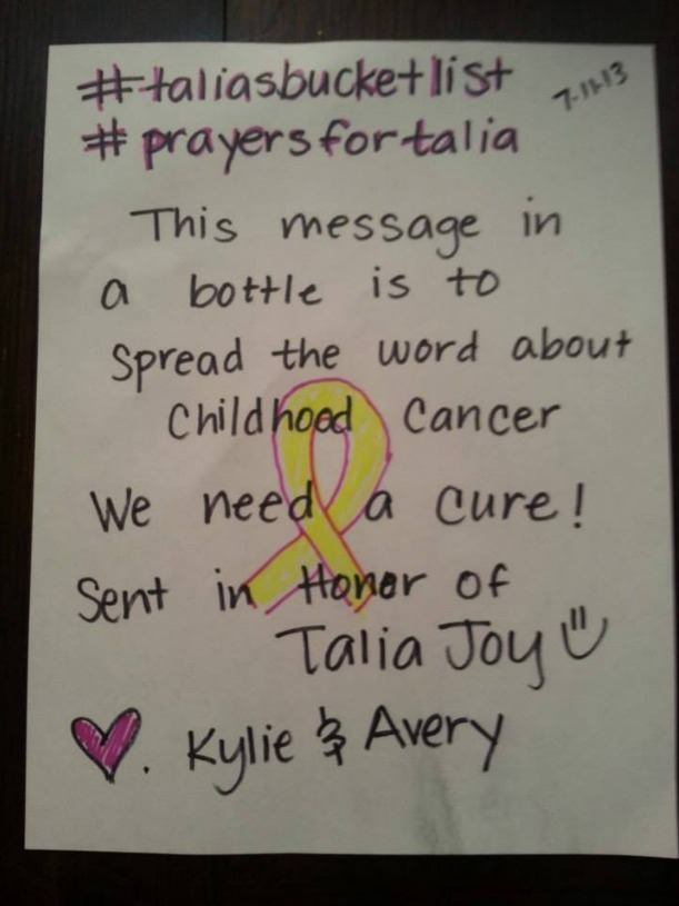 Talia Joy Castellano's Bucket List: Devoted Fans Fulfill Her Dying Wishes