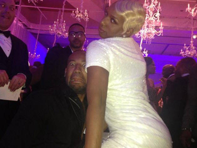 See NeNe Leakes Go Crazy at Her Wedding! (PHOTO)
