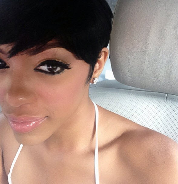 Porsha Stewart Cuts Almost All Her Hair Off: See Her Dramatic New Look!