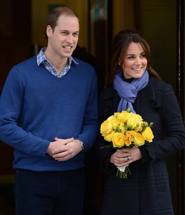 Pregnant Kate Middleton: Who Was in the Delivery Room?