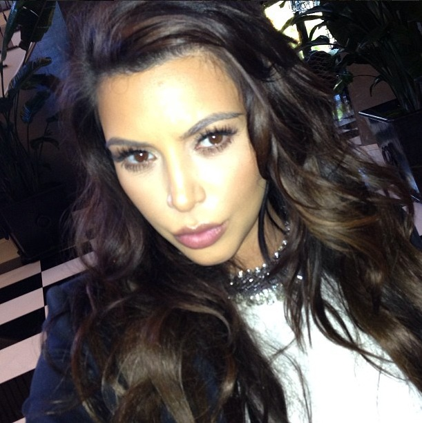 "Kim Kardashian ""Stir Crazy"" at Home With Baby North West: Report"