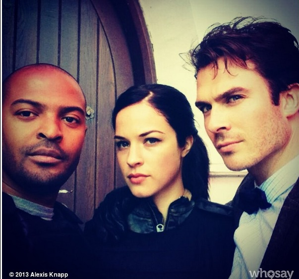 Ian Somerhalder, Alexis Knapp, and Noel Clarke on The Anomaly Set