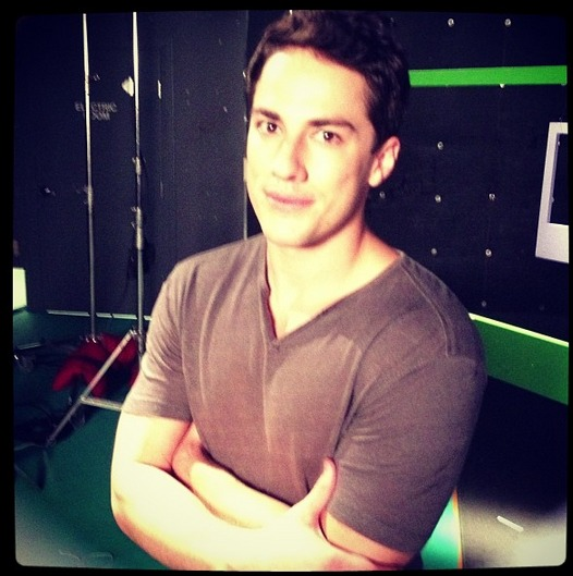 Vampire Diaries Season 5 Photoshoot: Michael Trevino's Tyler Returns