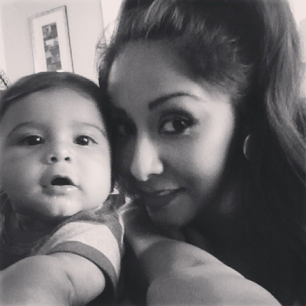 "Snooki's Baby, Lorenzo, ""Sweeps Away the Haters"" in Cutest Pic Ever!"