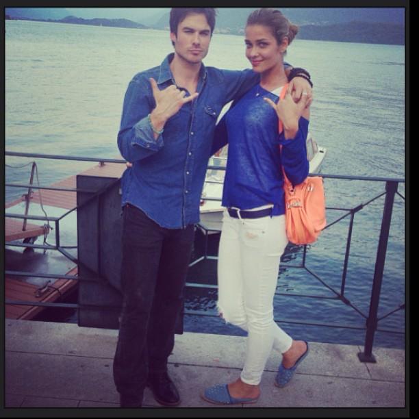 Ian Somerhalder Not Dating Ana Beatriz Barros: He Says She's a Friend