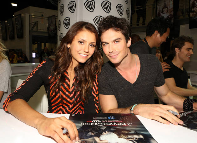 Ian Somerhalder and Nina Dobrev: Tension at Comic-Con?