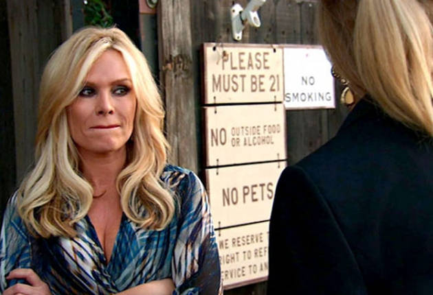 Real Housewives of Orange County Spoilers: Tamra Is Tongue Tied — Literally!