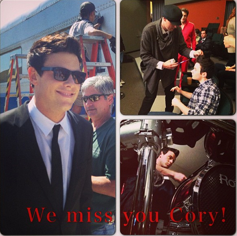 "Cory Monteith Memorial: Glee Cast's ""Emotional"" Private Gathering"