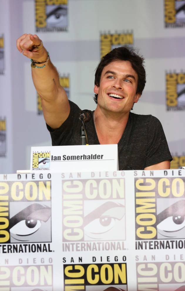 Vampire Diaries Season 5: Ian Somerhalder at Comic-Con 2013