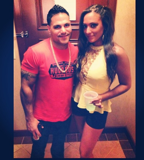 Sammi Sweetheart Practices Parenting With Ronnie Magro's Sisters! (PHOTO)