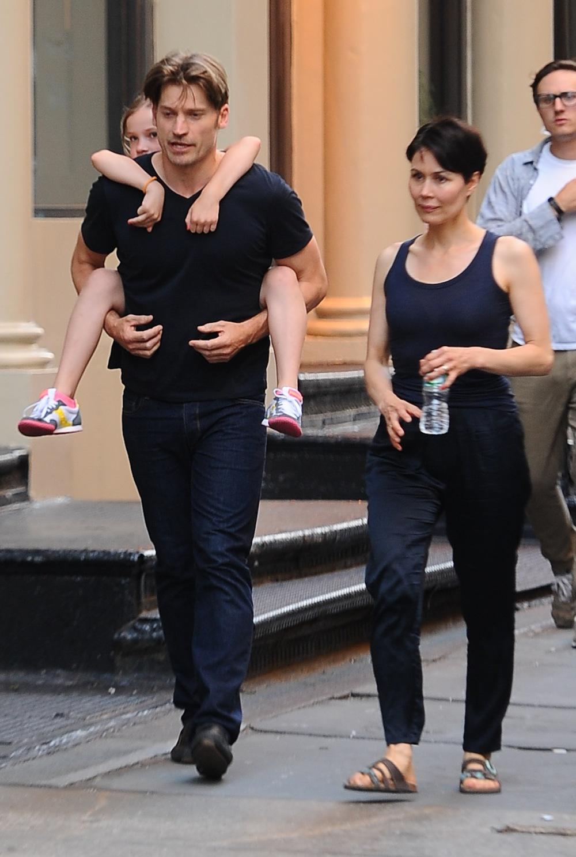 Game of Thrones' Nikolaj Coster-Waldau With His Kids (PHOTOS)