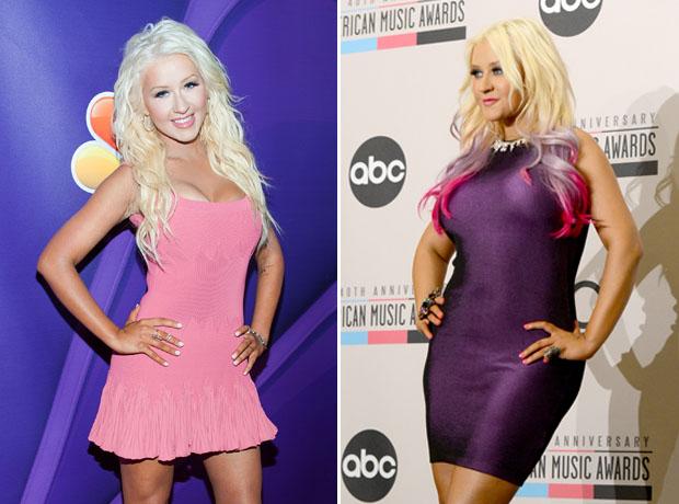 Christina Aguilera Debuts Epic Weight Loss at 2013 TCAs — She's Half Her Size! (PHOTOS)