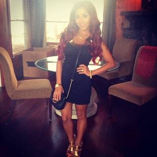 Snooki Looks Skinnier Than Ever in an LBD! Do You Love Her Look? (PHOTO)