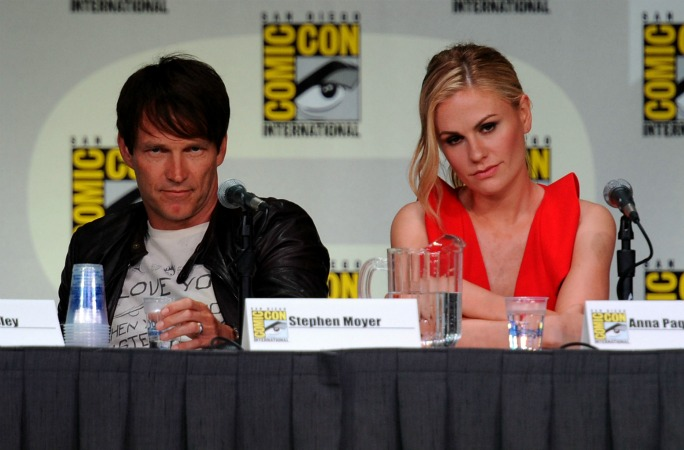 "True Blood Cast Gets Cute at Comic-Con: ""This Is Who We Do It For"" (VIDEO)"