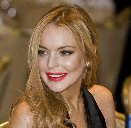 "Lindsay Lohan Parties ""All Night Long"" With The Wanted's Max George"