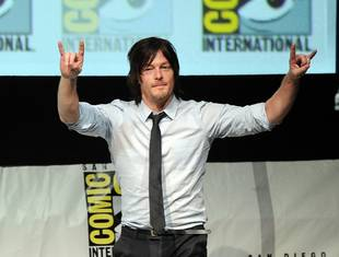 """""""Disoriented"""" Norman Reedus Fan Takes Kids to Georgia to Find Walking Dead Star"""