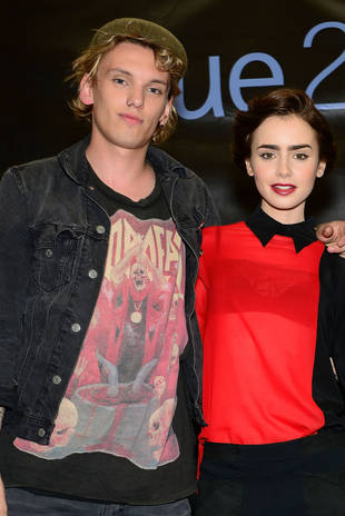 Mortal Instruments Stars Lily Collins and Jamie Campbell Bower Break Up