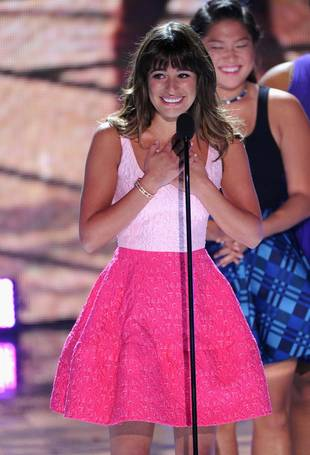 Lea Michele's Teen Choice Awards Tribute to Cory Monteith Tied to Low Ratings — Is the Media Being Disrespectful?