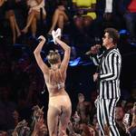 Miley Cyrus's VMA Performance Offends Man Behind Foam Finger